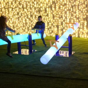 LED-seesaw