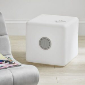 LED cube speaker