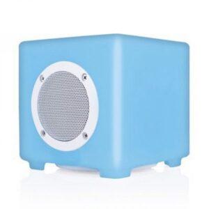 light-up cube speaker
