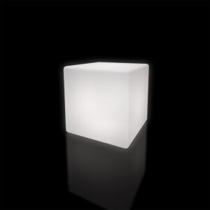 LED Cube Floor Lamp 60cm