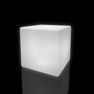 Light-up Cube Table 80cm