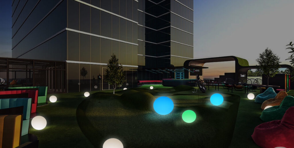 Outdoor LED Light-up Ball Lights