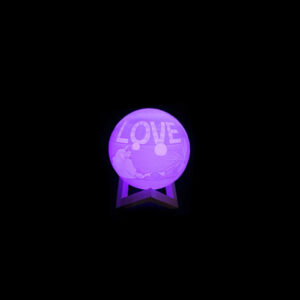 personalized led ball lamp 15 cm