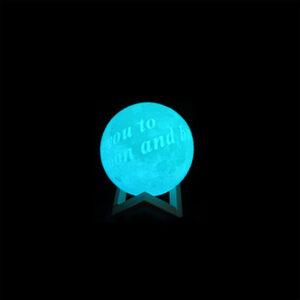 personalized led ball lamp 20 cm