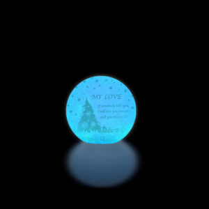 personalized led ball lamp 25 cm