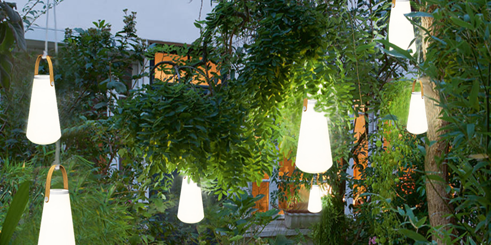battery operated outdoor hanging lanterns